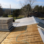 Log Cabin Roofing Installation