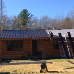 Standing Seam Metal Roof in Foster, RI